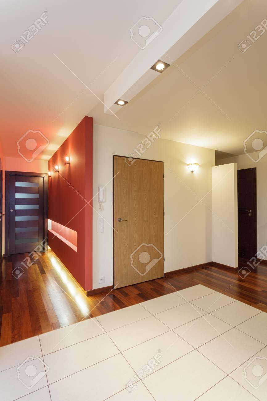 Spacious apartment - main door of modern house Stock Photo - 25088216