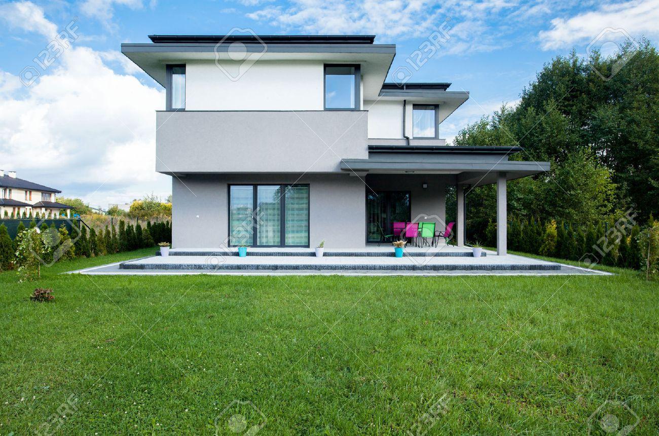 Jardines Exteriores De Casas Modernas Son Jardines En Los Que Tanto - Jardines-casas-modernas