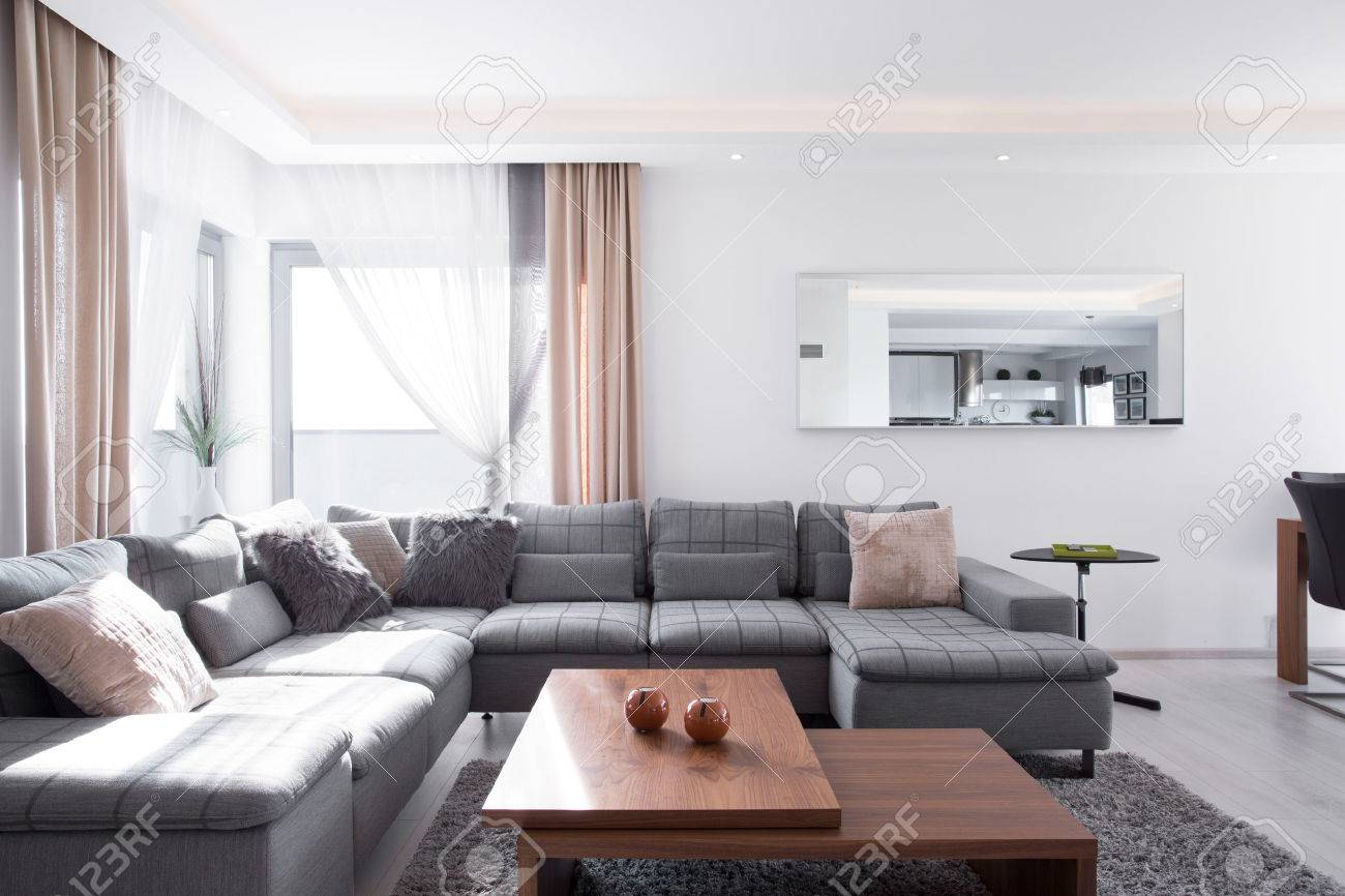 check out 380c1 c38f4 Lots of decorative cushions on comfortable corner sofa
