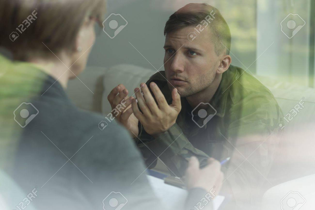 Psychological therapy of post traumatic stress disorder - 43943603