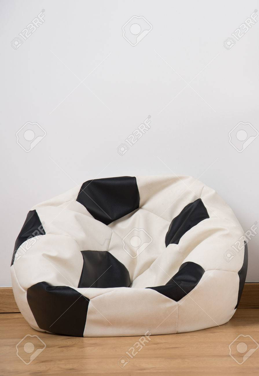Astonishing Close Up Of Comfortable Trendy Soccer Ball Bean Bag Chair Ocoug Best Dining Table And Chair Ideas Images Ocougorg