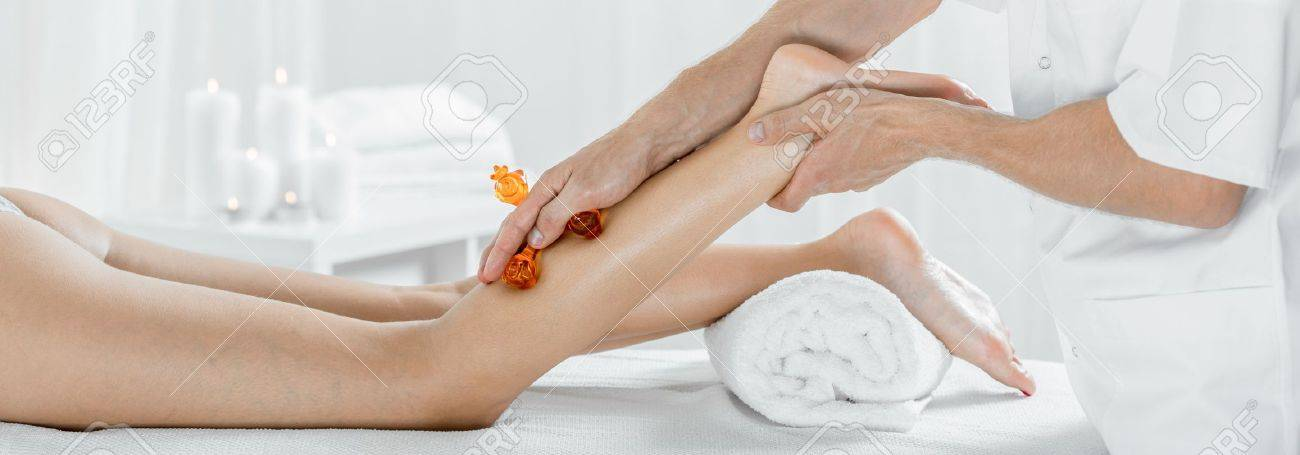 Panorama of female during legs manual lymphatic drainage massage panorama of female during legs manual lymphatic drainage massage stock photo 44885509 solutioingenieria Choice Image