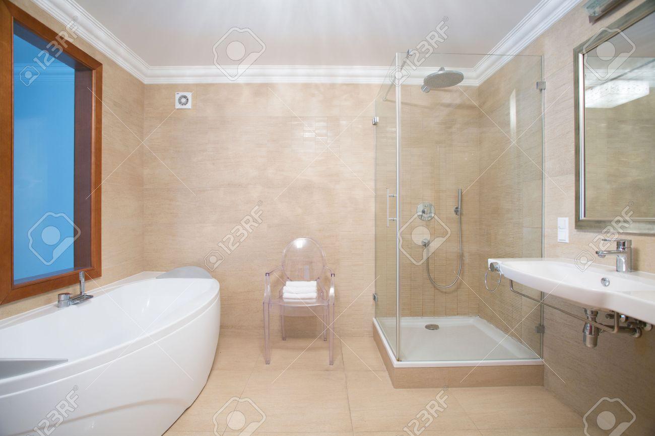 Piastrelle Bagno Beige E Marrone : Piastrelle bagno colorati ...