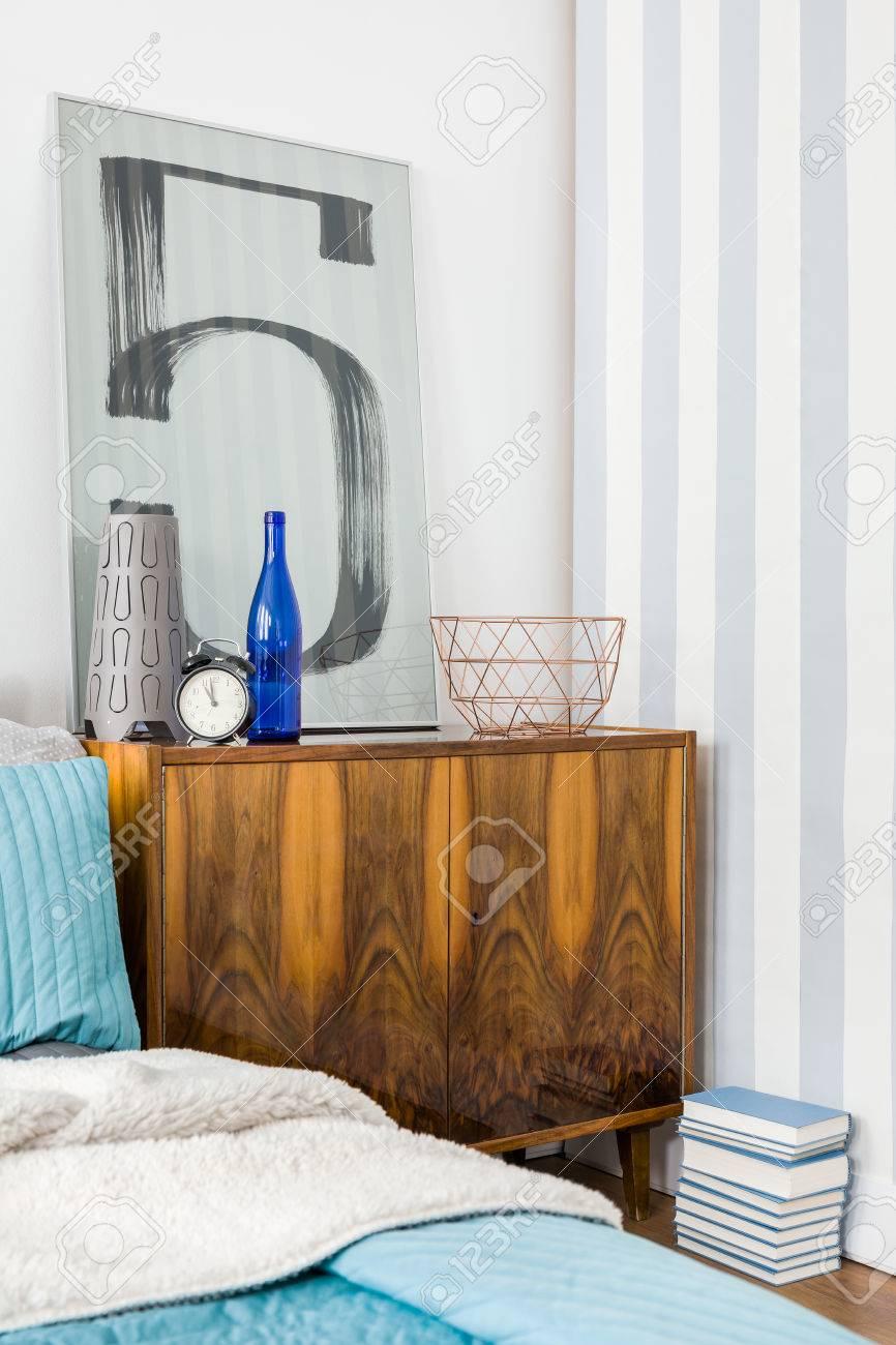 Photo de mobilier élégant au design intérieur contemporain