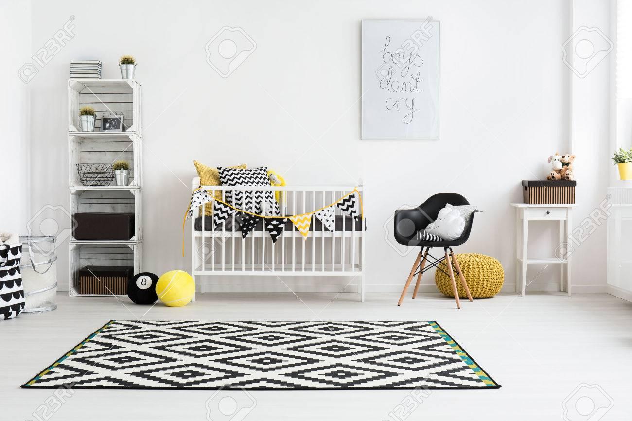 Plan D Une Chambre Moderne Bebe