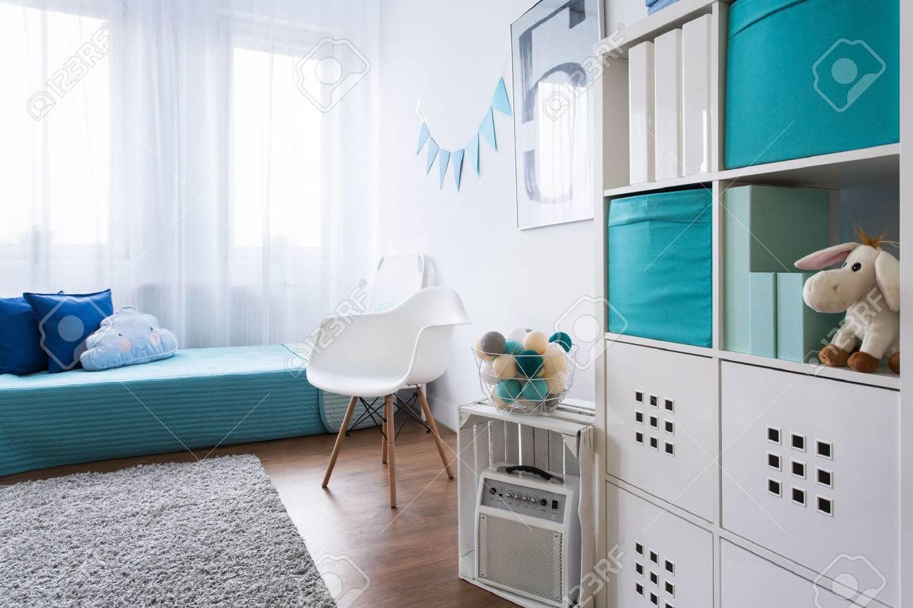 Gemutliche Moderne Zimmer Fur Kleinen Jungen Entworfen Grau