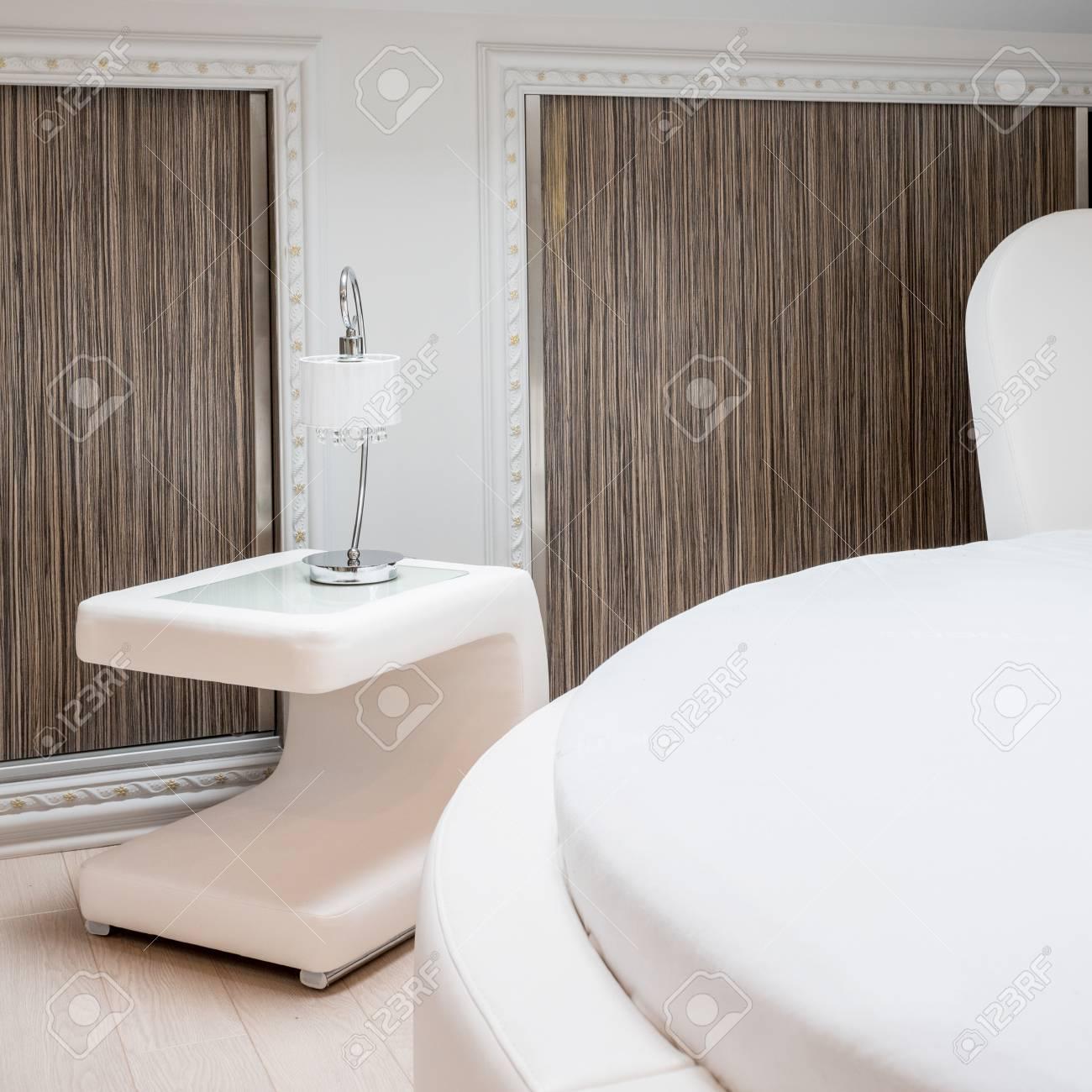 Intérieur De La Chambre Design Moderne Dans La Maison Contemporaine ...