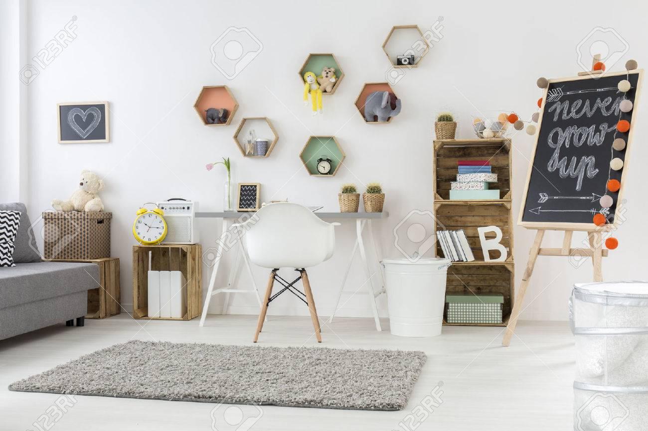 Accessoire Chambre D Enfant prise de vue d'une chambre d'enfant moderne complète d'accessoires