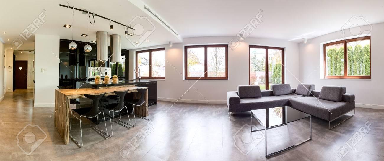 Plan D\'un Intérieur D\'une Maison Moderne Banque D\'Images Et Photos ...