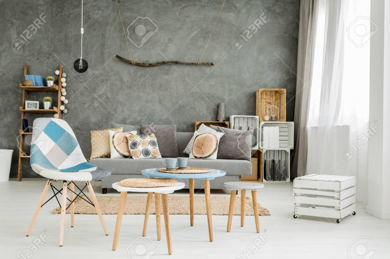 Estilo Muebles Amazing Mueble De Saln Completo Estilo Nrdico  # Muebles Nuevo Estilo