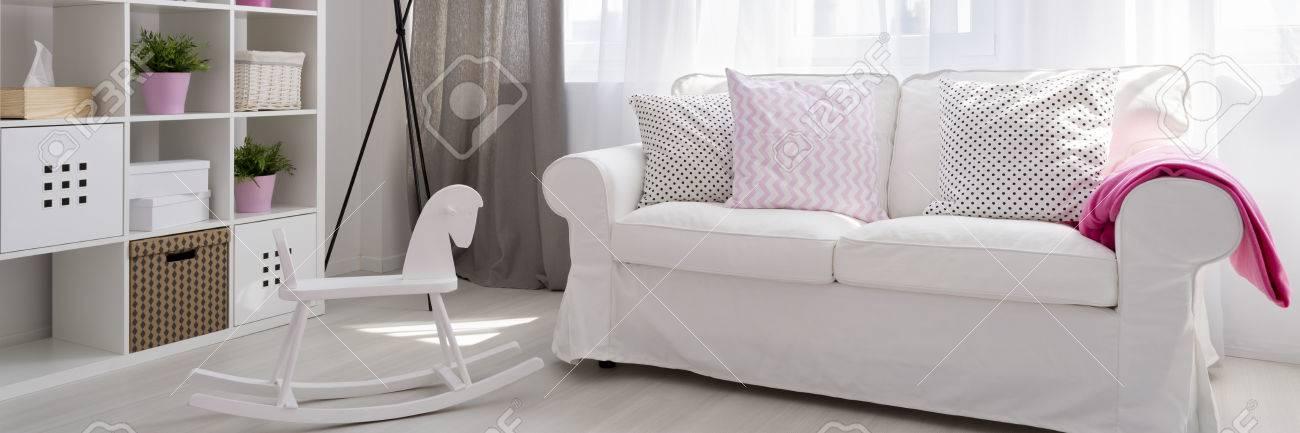 Awe Inspiring Panorama Of White Sofa In Baby Room Dailytribune Chair Design For Home Dailytribuneorg