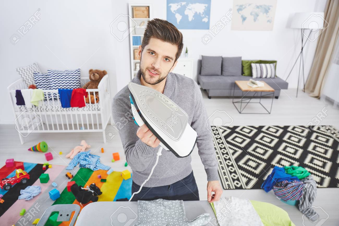 la ropa de bebe se plancha