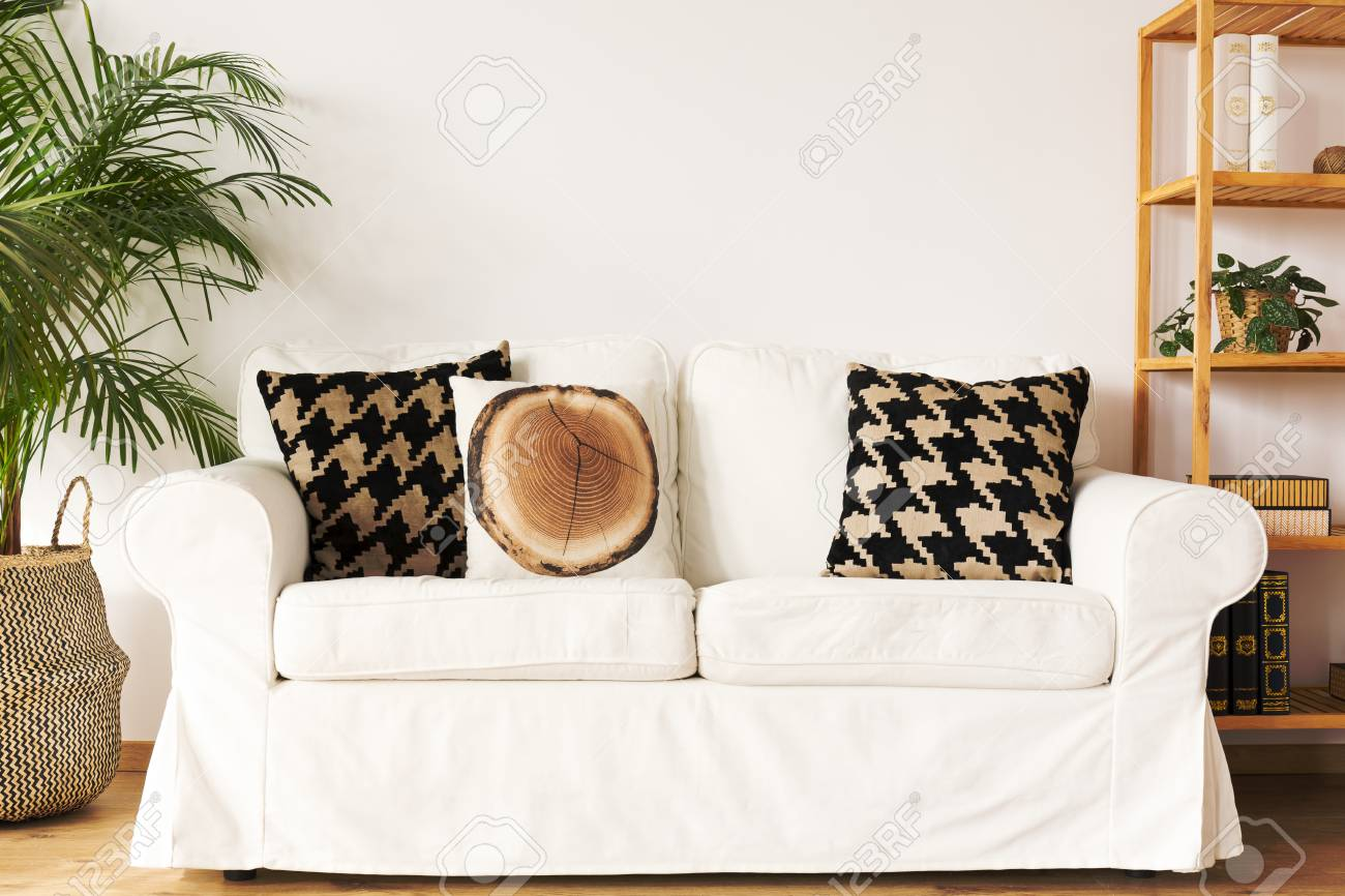 Prime Living Room With White Couch Decorative Pillows Bookcase And Andrewgaddart Wooden Chair Designs For Living Room Andrewgaddartcom
