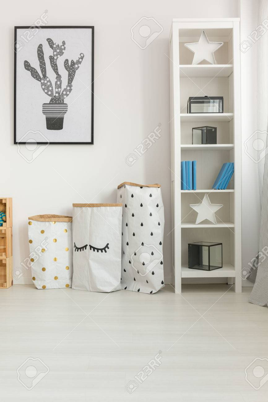 Simple Modern Decor In Baby Room With Paper Diy Accessories