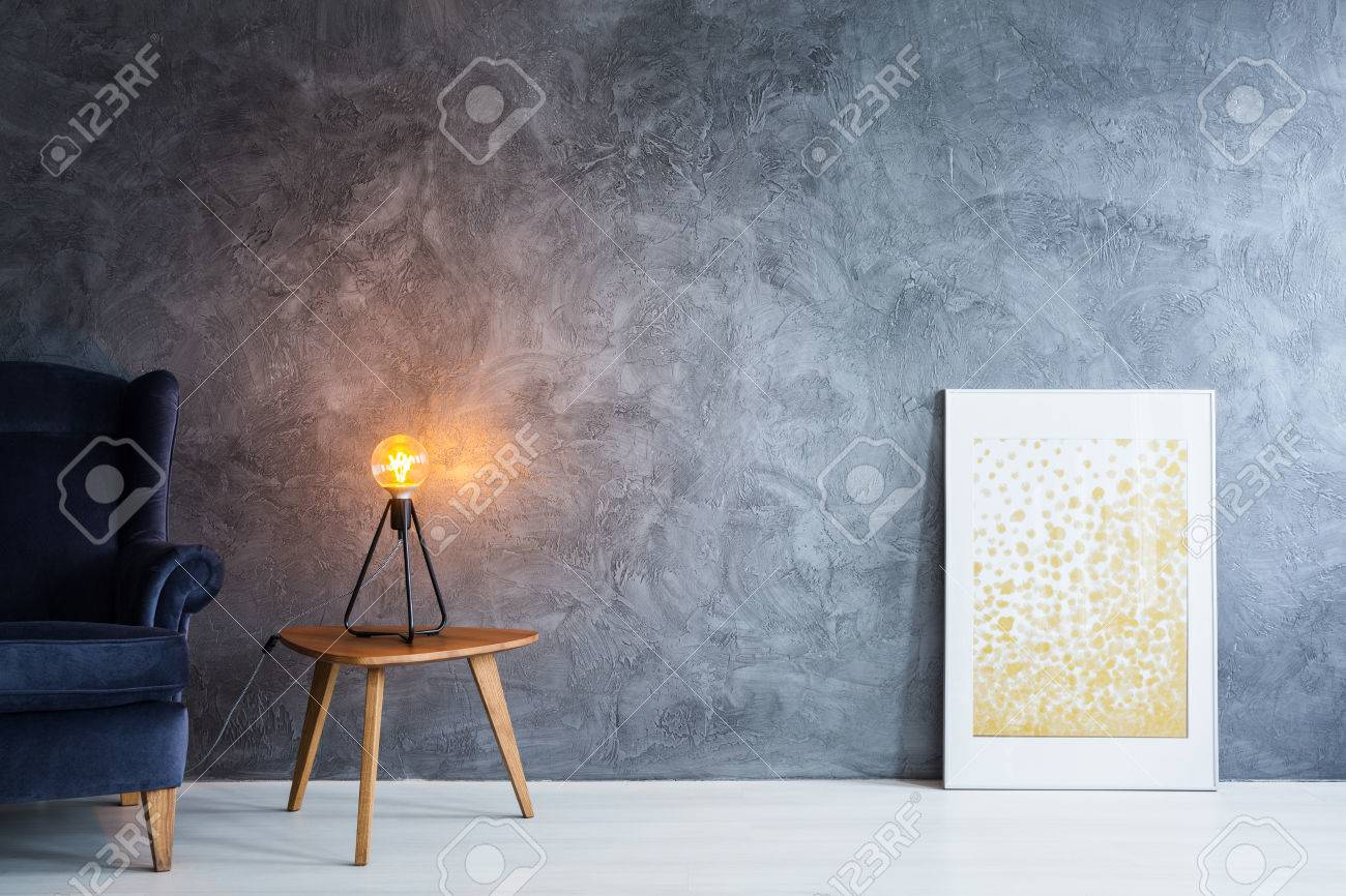 Home Decoration Items On Dark Wall In Minimal Interior Stock Photo Picture And Royalty Free Image Image 81726238