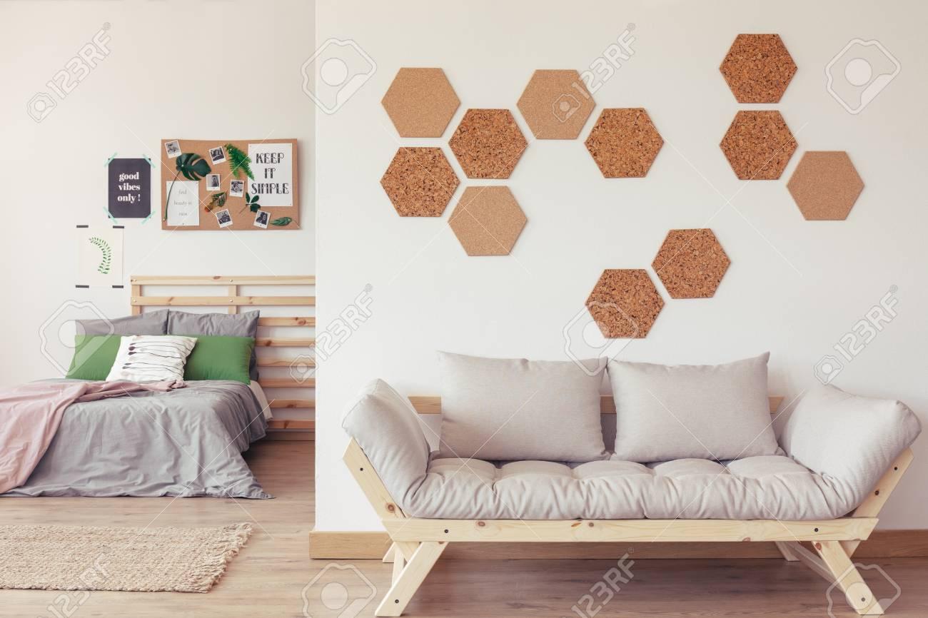 Design De Chambre à Coucher Moderne Avec Des Couleurs Pastels ...