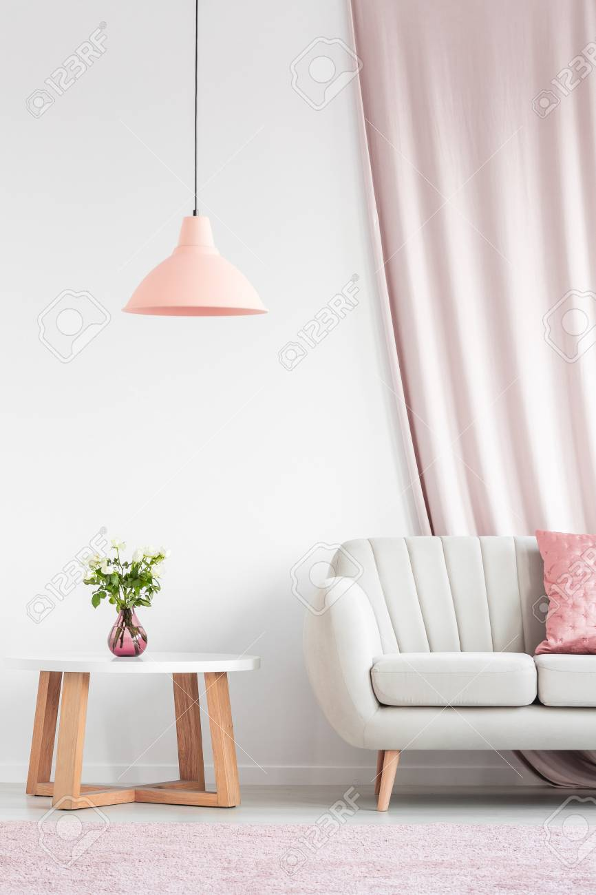 with design depositphotos living walls cozy stock photo dining and room interior peach