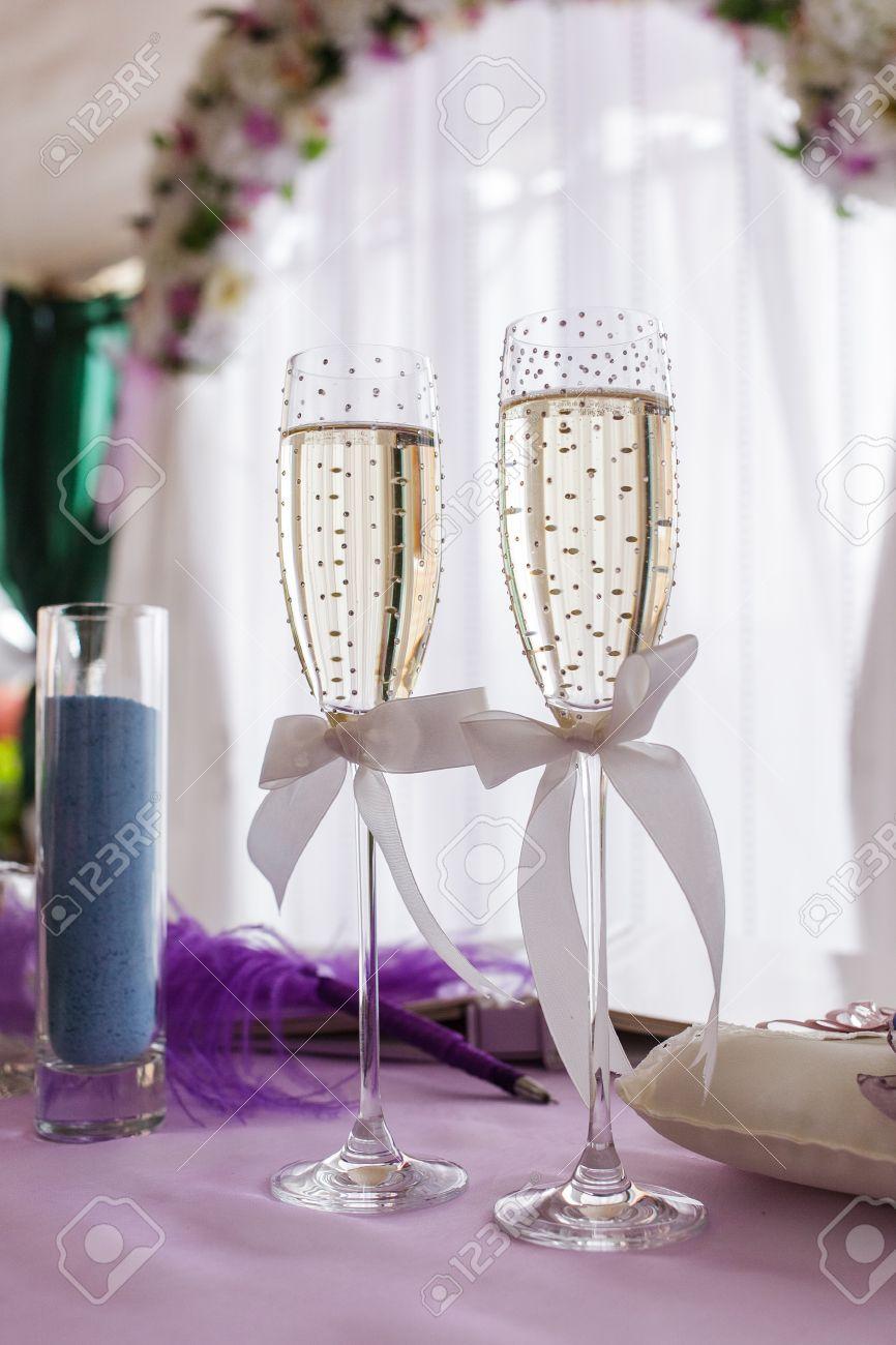 Funky Wedding Glass Decoration Adornment - The Wedding Ideas ...