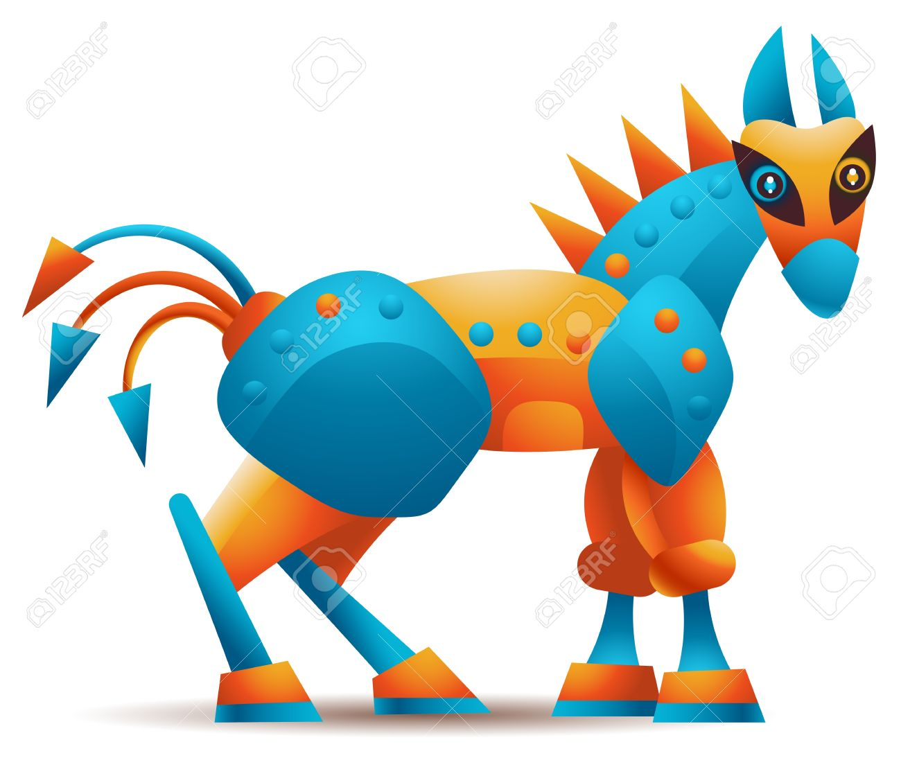 Computer Trojan Horse Malware Or Any Other Trojan Horse Concept Royalty Free Cliparts Vectors And Stock Illustration Image 13615120