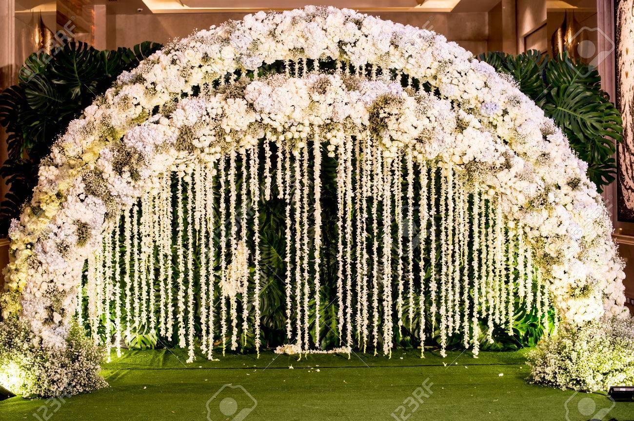 Wedding Arch Flashing Light Arch Entrance Beautiful Wallpaper