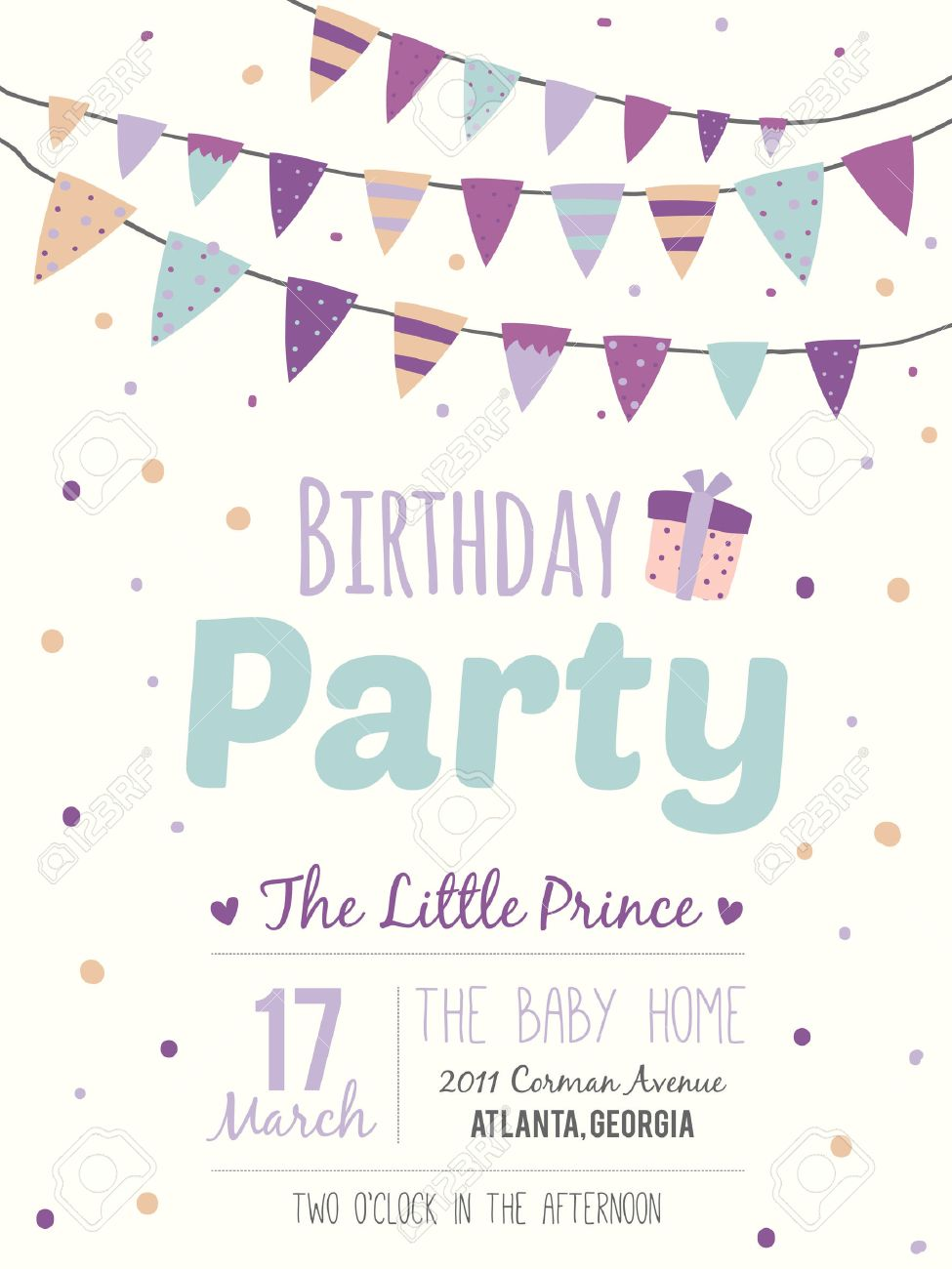 B day poster designs - Unusual Inspirational Romantic And Motivational Quotes Invitation Card Stylish Happy Birthday Poster In Cute