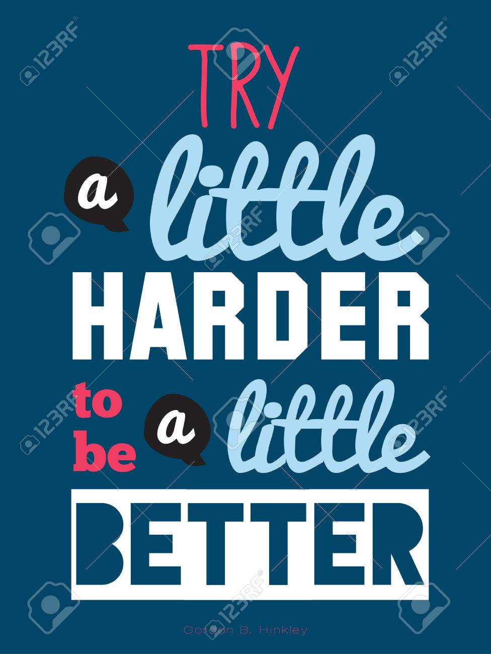 D d poster design - Inspirational And Motivational Quotes Vector Poster Design Stylish And Modern Typographic Good For For