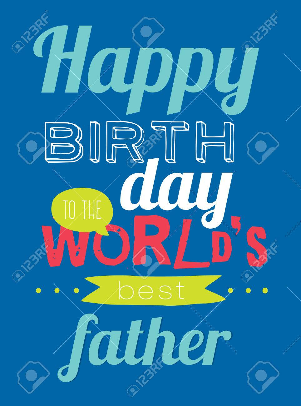 collection of unusual typographic birthday cards. stylish, Birthday card