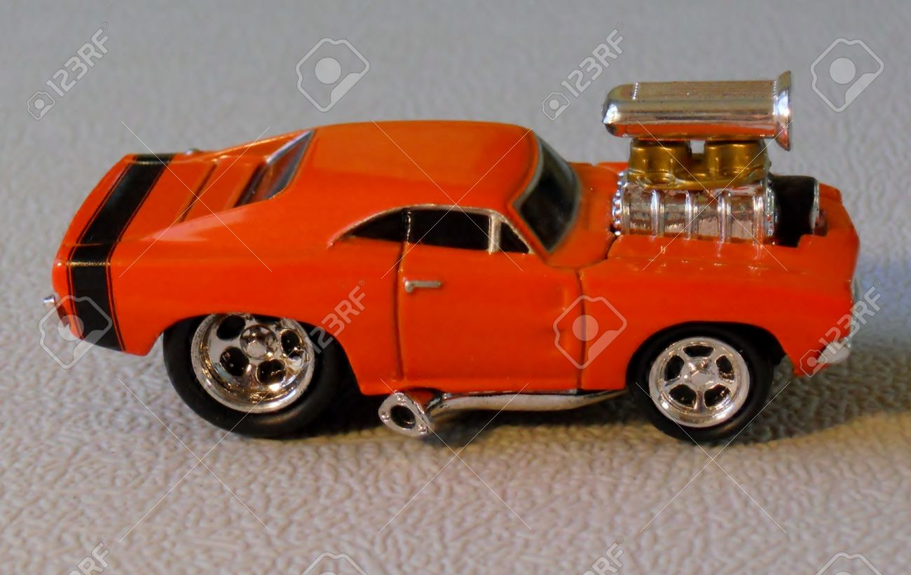 1969 AMERICAN MUSCLE TOY CAR Stock Photo, Picture And Royalty Free ...