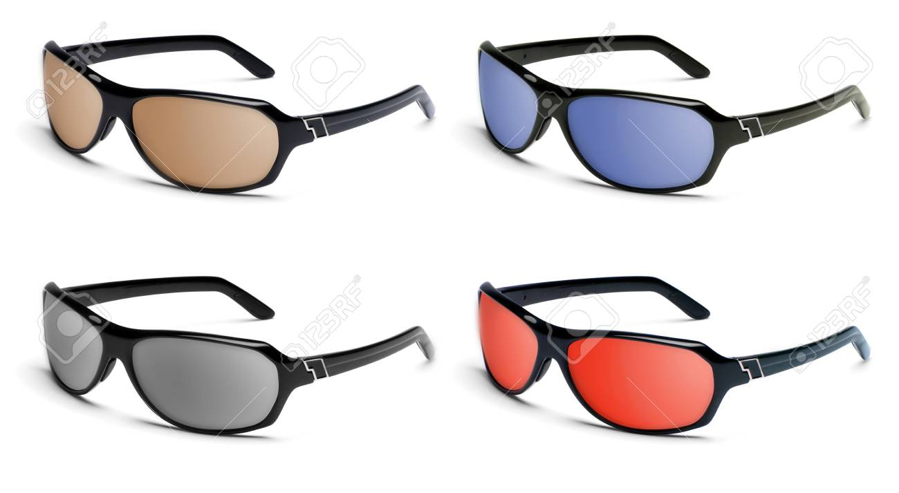 Collection of glamour sun glasses. Stock Photo - 9686454