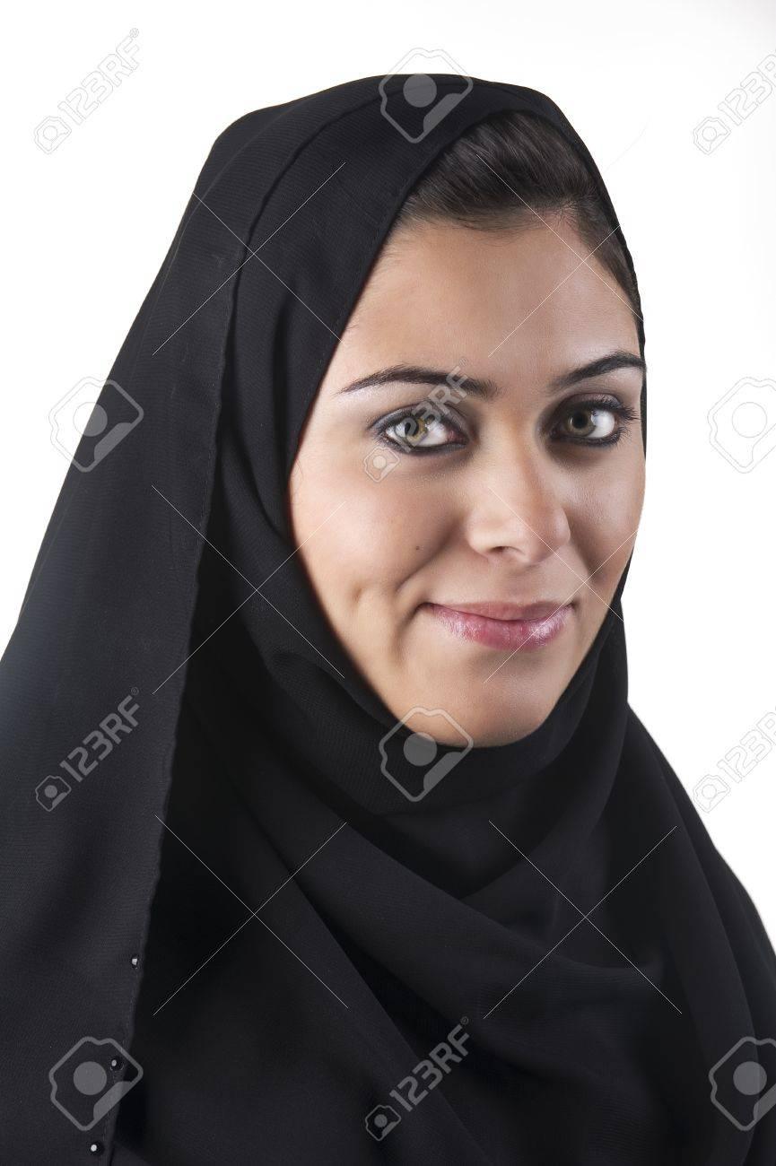beautiful arabian lady wearing hijab Stock Photo - 13658911
