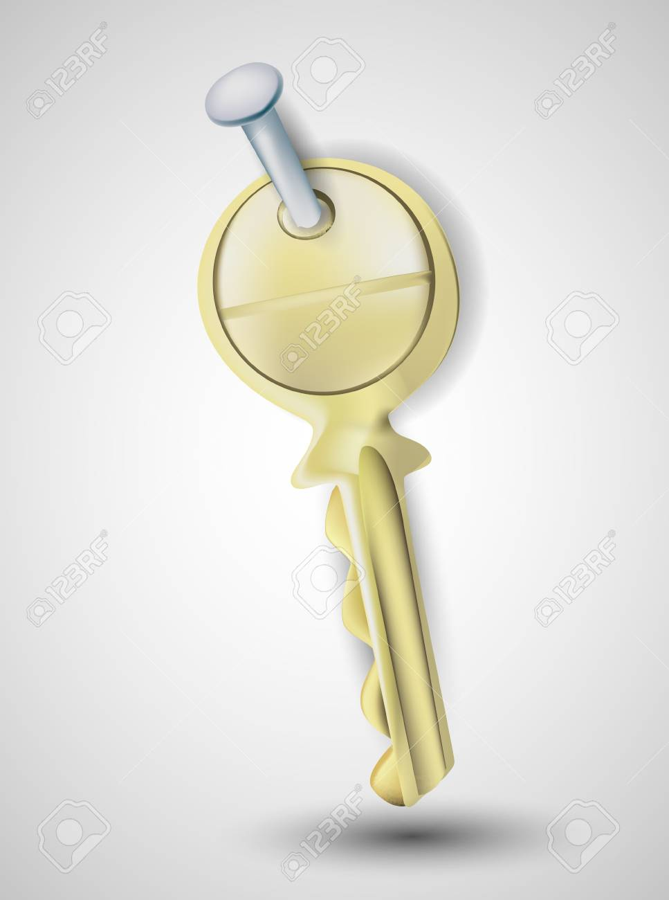 Key Stock Vector - 13361882
