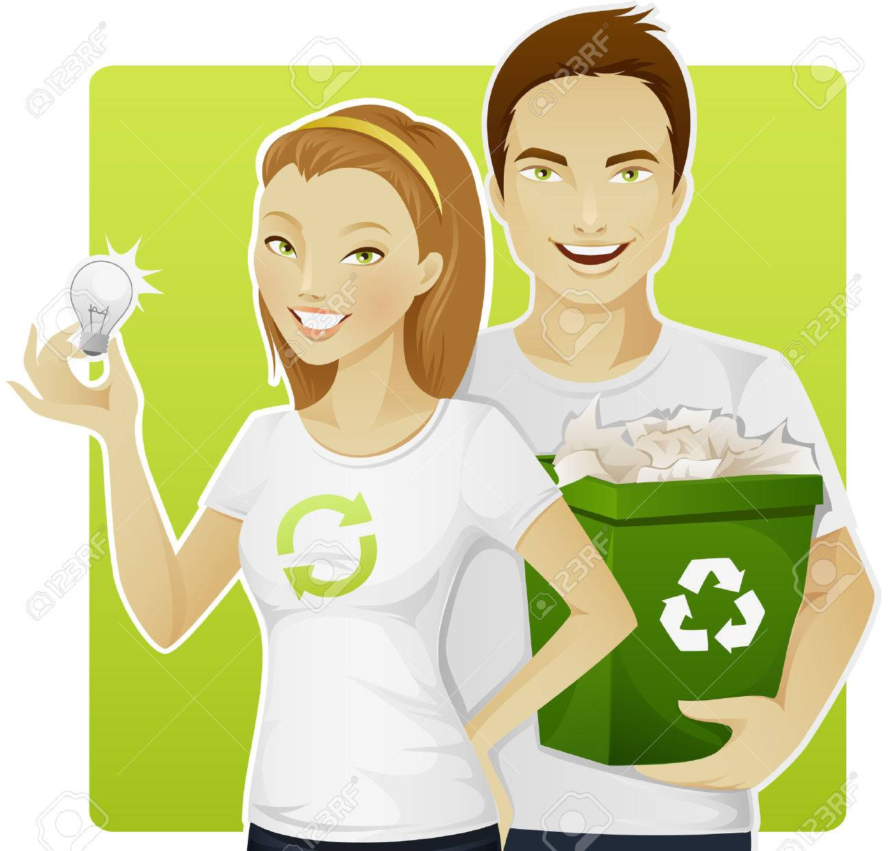 Eco-friendly people - 7471094