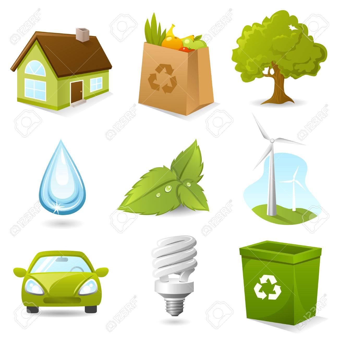 Ecology Icon set - 7851264
