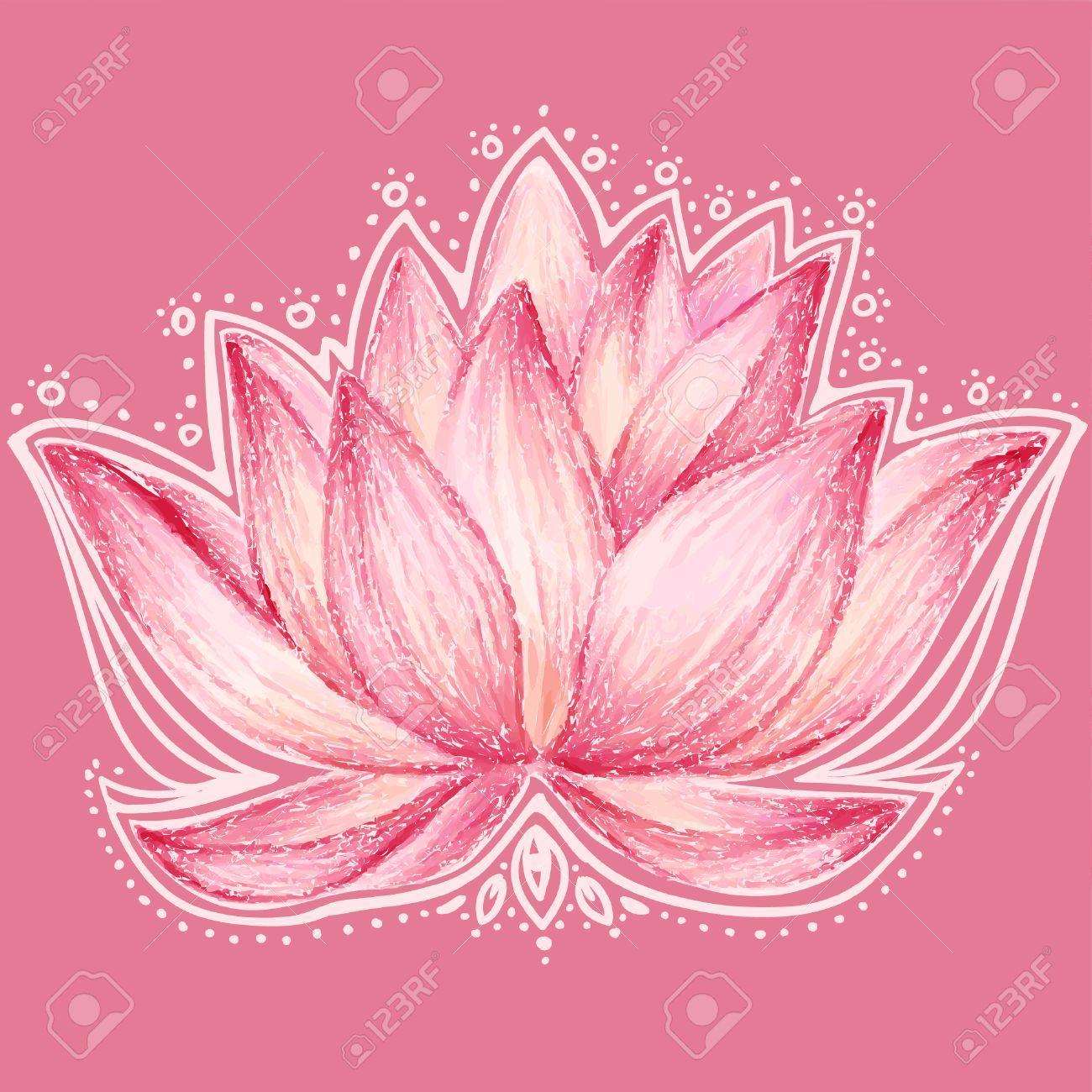 Lotus flower design - 30447805