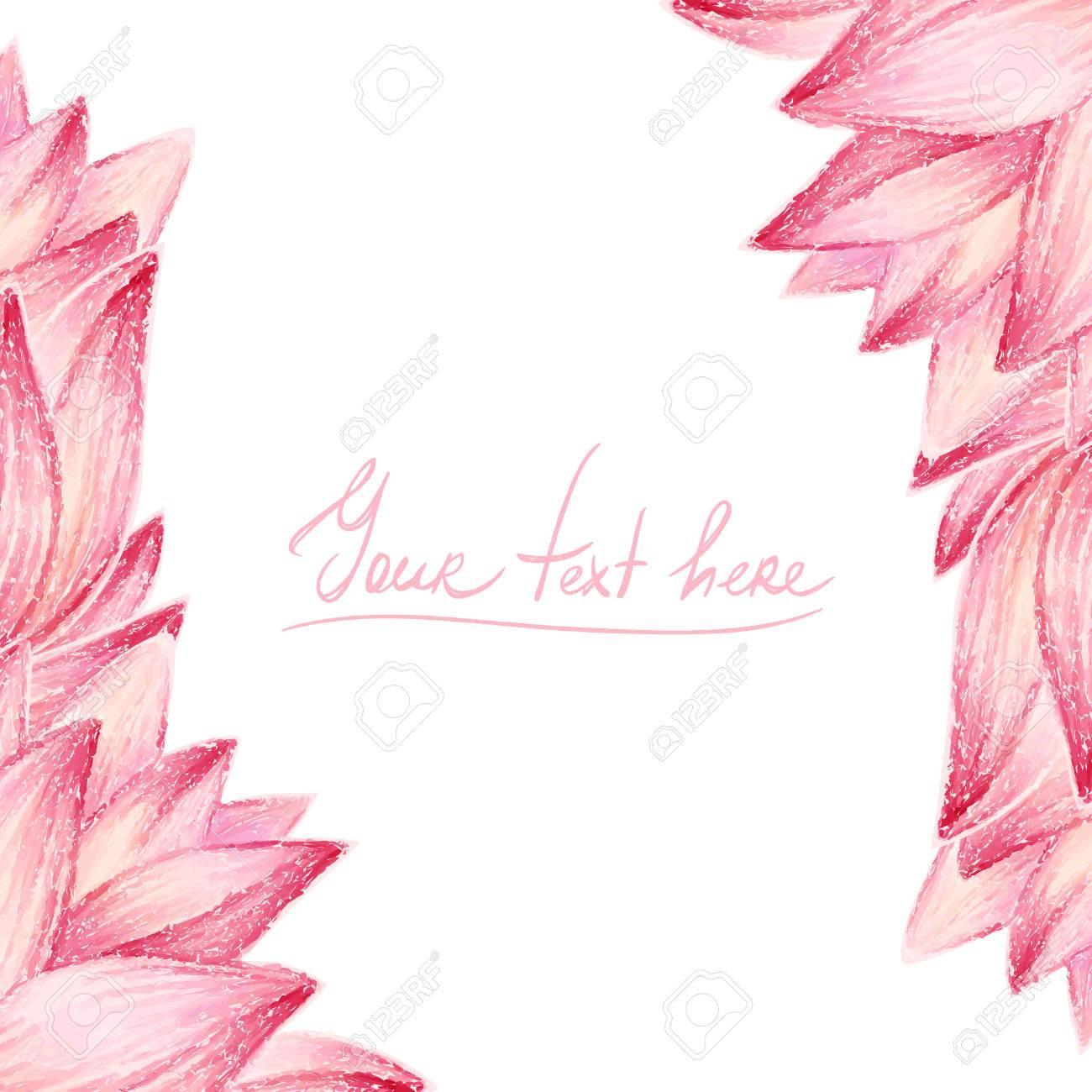 Pink lotus flower design card royalty free klipartlar vektr pink lotus flower design card stok fotoraf 30447809 izmirmasajfo