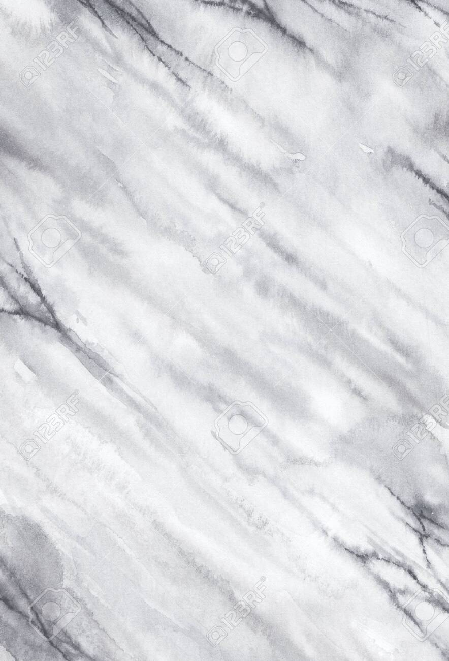 Watercolor marble background. Hand drawn marble effect print. - 142106257