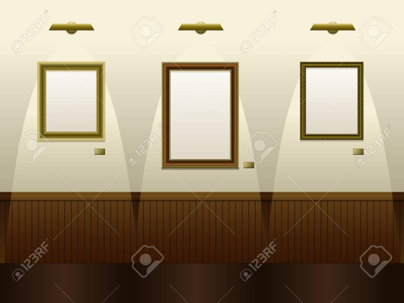Art gallery Stock Vector - 9103730