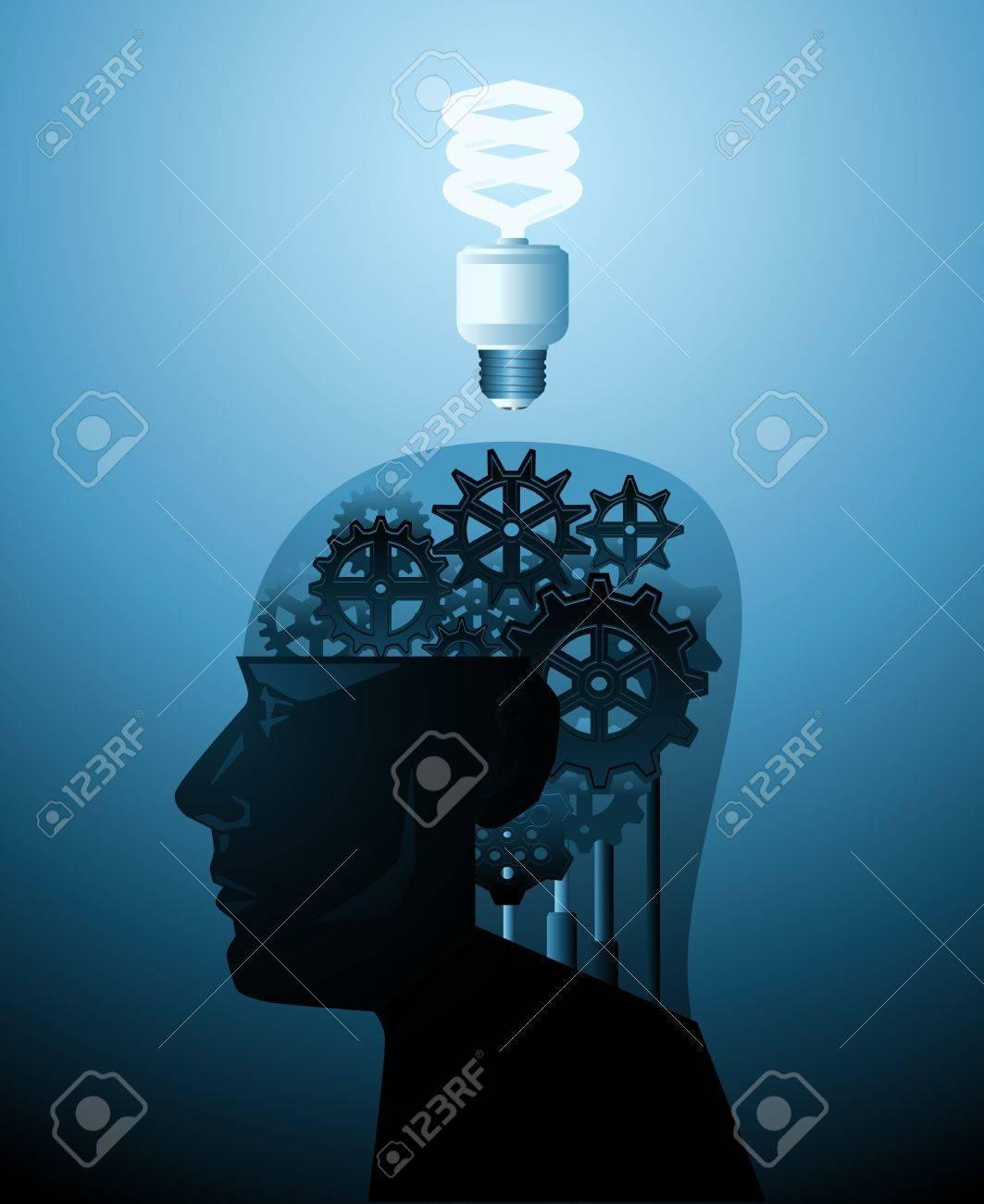Idea machine Stock Vector - 9223701