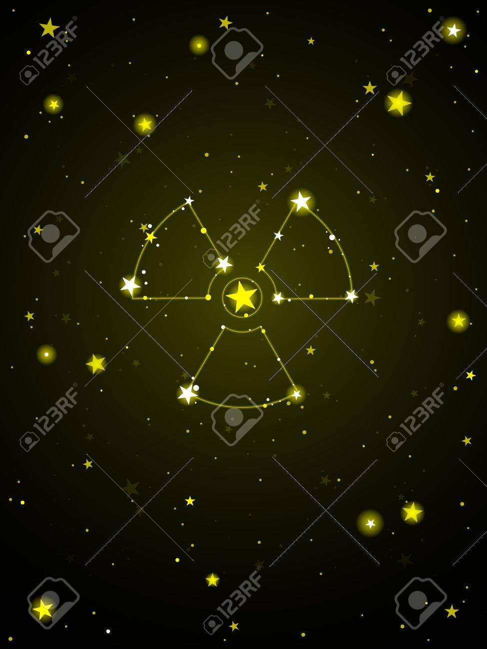Radiation from space Stock Vector - 9648565