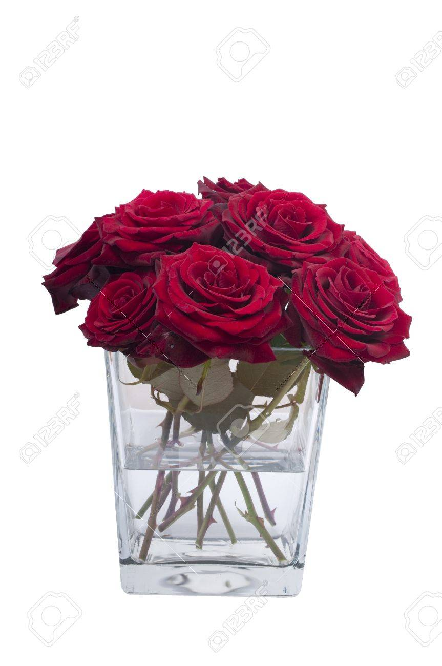Bunch of red rose flowers in a small vase stock photo picture and bunch of red rose flowers in a small vase stock photo 9367931 floridaeventfo Images