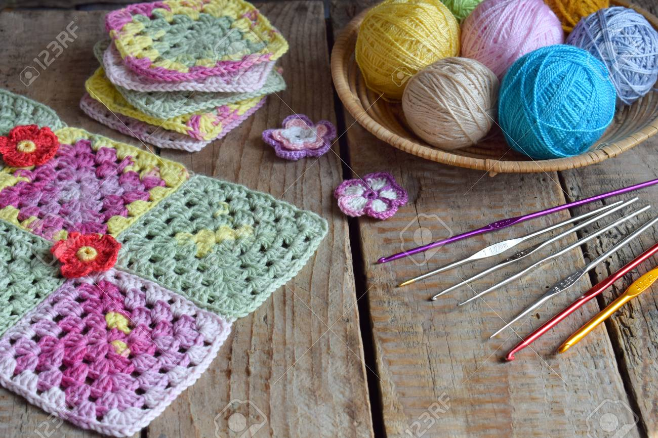 Equipment For Knitting And Crochet Hook, Olorful Rainbow