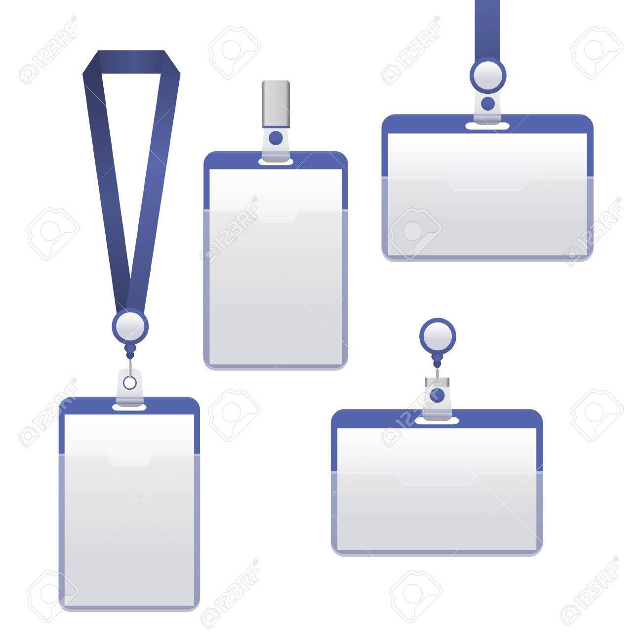 Plantilla De Credencial De Identificación De Equipo Puede Ser Usado ...