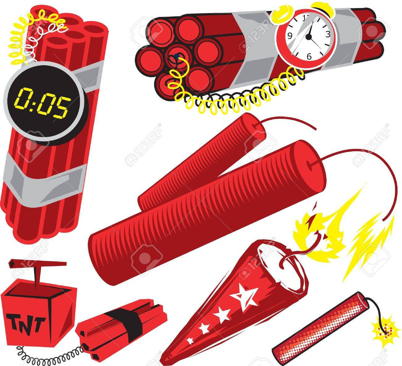 Dynamite Collection Stock Vector - 9886607
