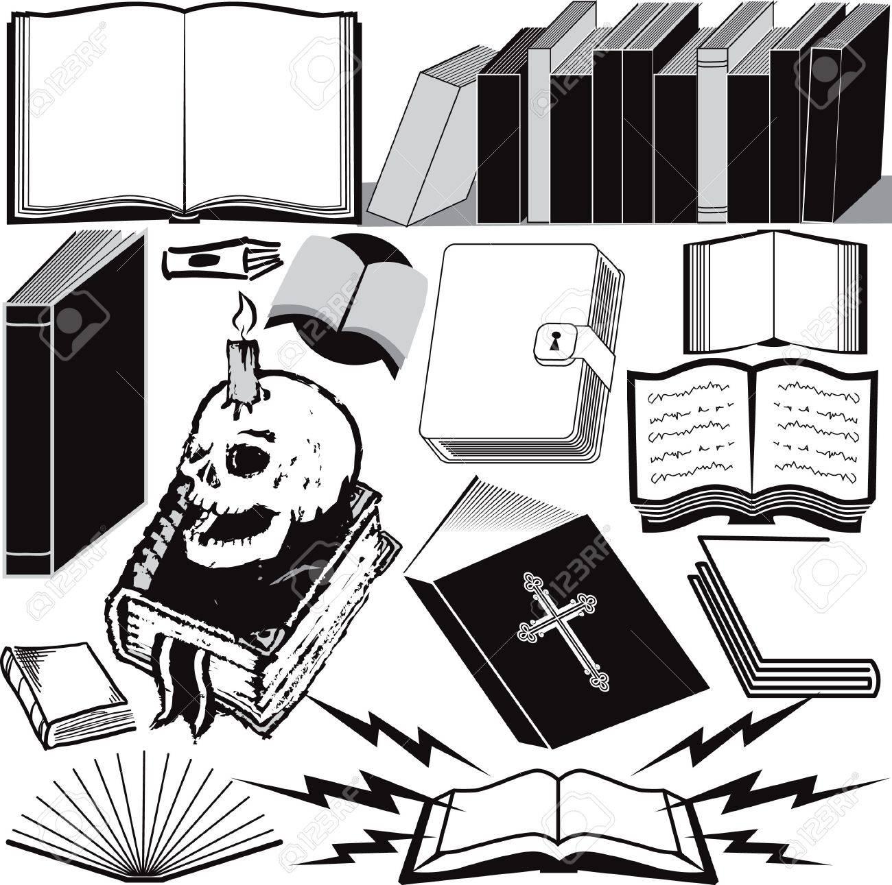 Book Collection Stock Vector - 13026626