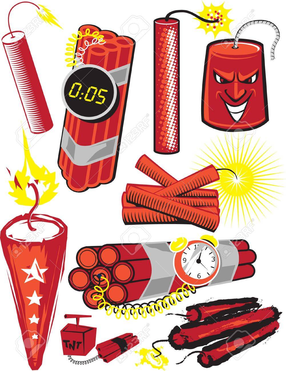 Dynamite Collection Stock Vector - 13453581