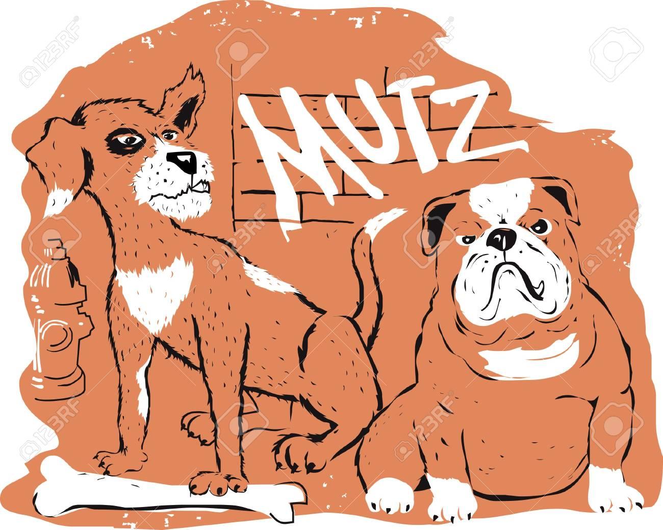 Street Dogs Stock Vector - 17443058