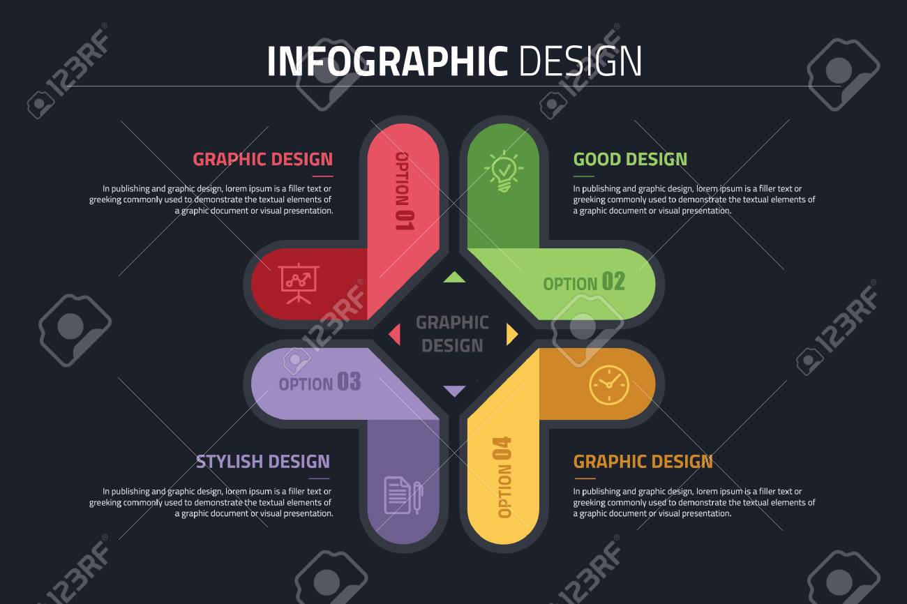 Ppt infographics design diagram with 4 option vector illustration ppt infographics design diagram with 4 option vector illustration stock vector 91665703 ccuart Image collections