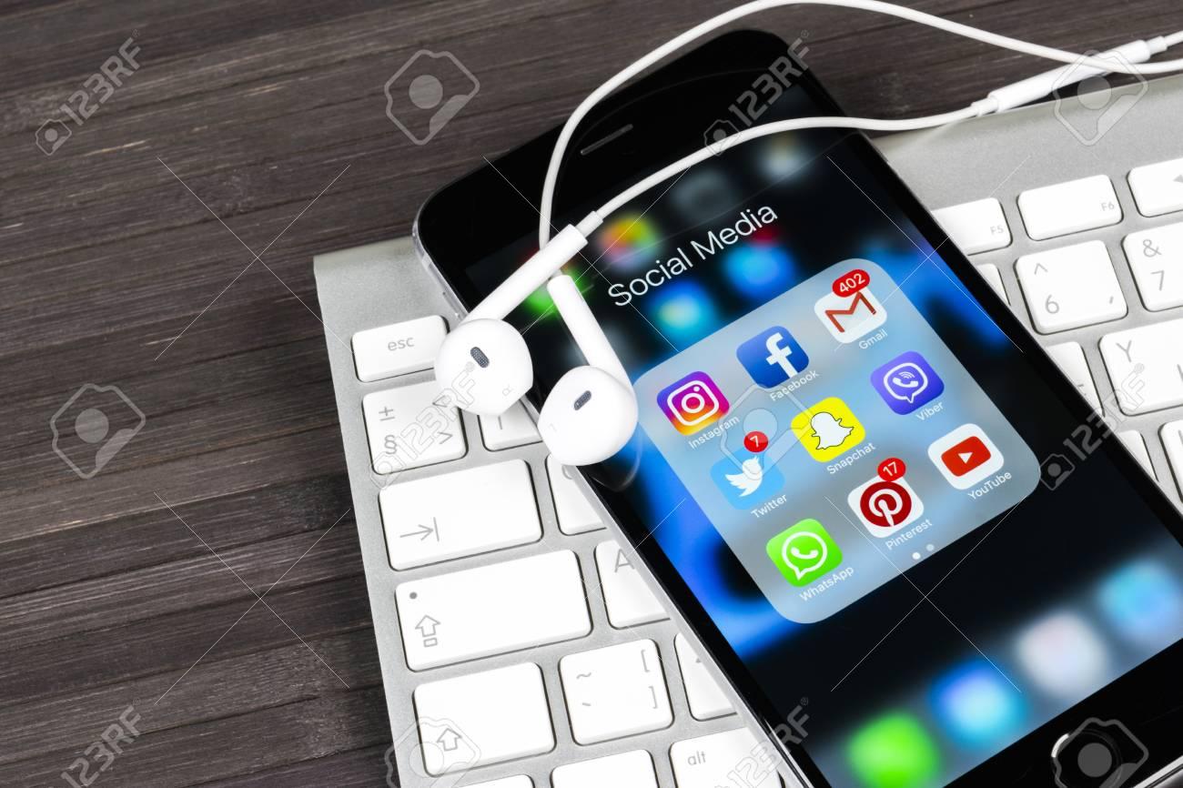 Sankt Petersburg Russia December 20 2017 Apple Iphone 7 On Stock