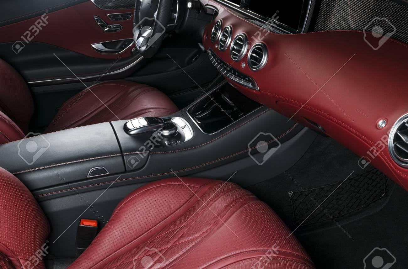 Modern Luxury Car Inside Interior Of Prestige Modern Car