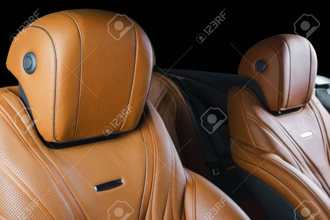 Modern Luxury Car Inside Interior Of Prestige Modern Car Comfortable Stock Photo Picture And Royalty Free Image Image 96442594